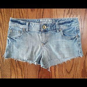 Mossimo Light Wash Denim Jean Shorts
